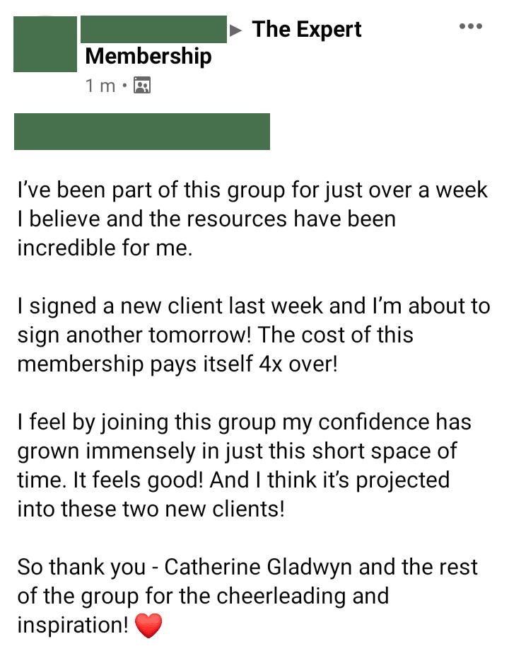 The Expert Membership with Catherine Gladwyn